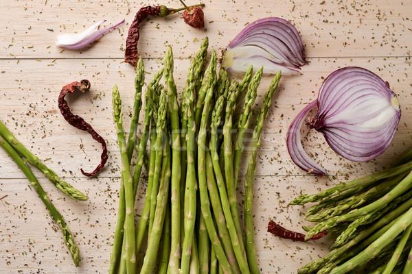 wild asparagus Stock photo © nito