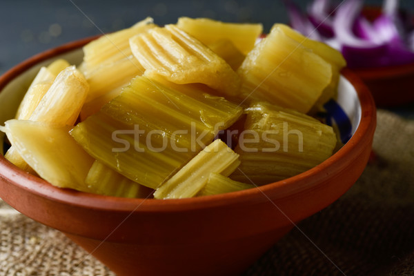 cooked cardoon, typically eaten in Spain Stock photo © nito