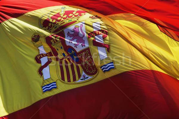 flag of spain Stock photo © nito
