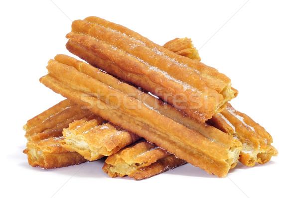 Típico España fondo desayuno blanco Foto stock © nito