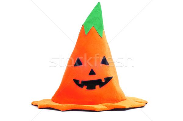 Halloween pumpkin hat Stock photo © nito