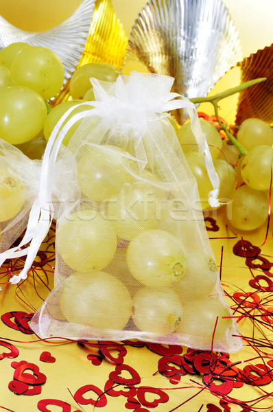 spanish twelve grapes of luck Stock photo © nito
