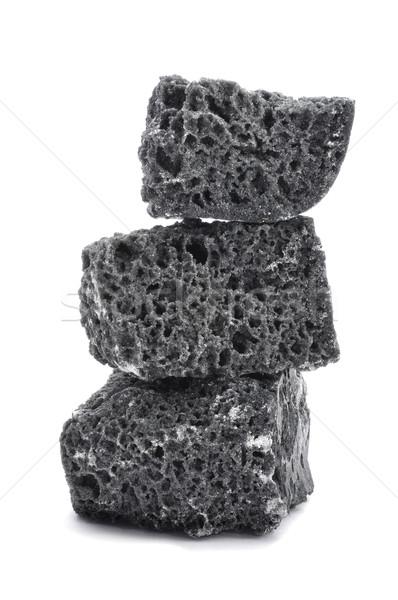 ストックフォト: キャンディ · 石炭 · 白 · パーティ · 現在 · クリスマス