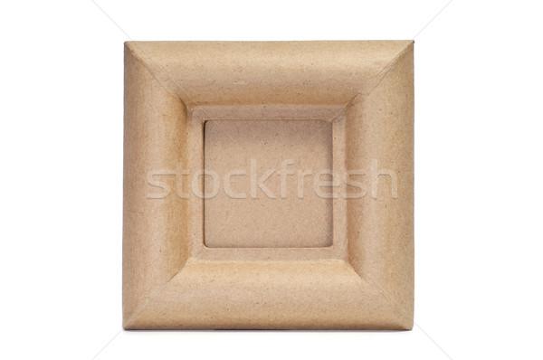 paper-mache frame Stock photo © nito