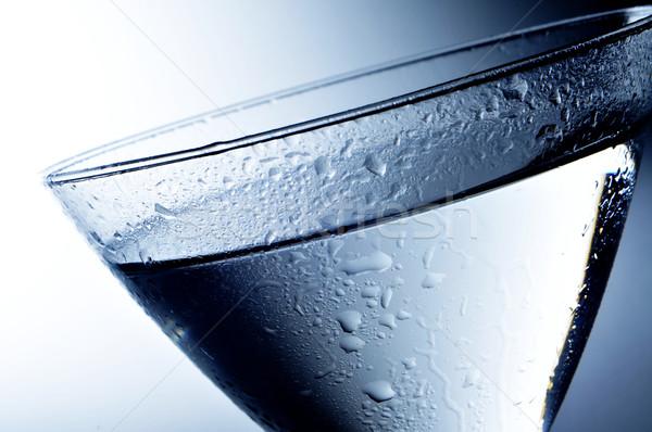 алкогольные напитки коктейль стекла воды ночь Сток-фото © nito