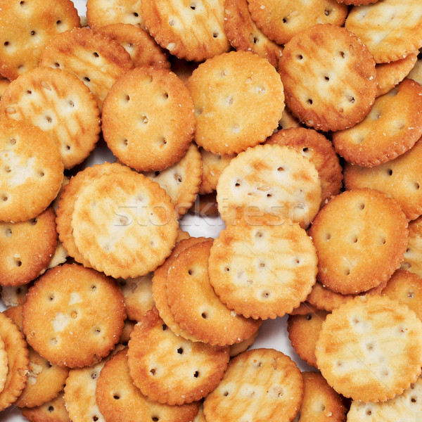 salty round crackers Stock photo © nito