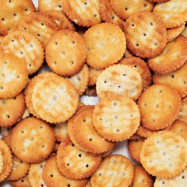 Tuzlu doku ekmek yağ Stok fotoğraf © nito