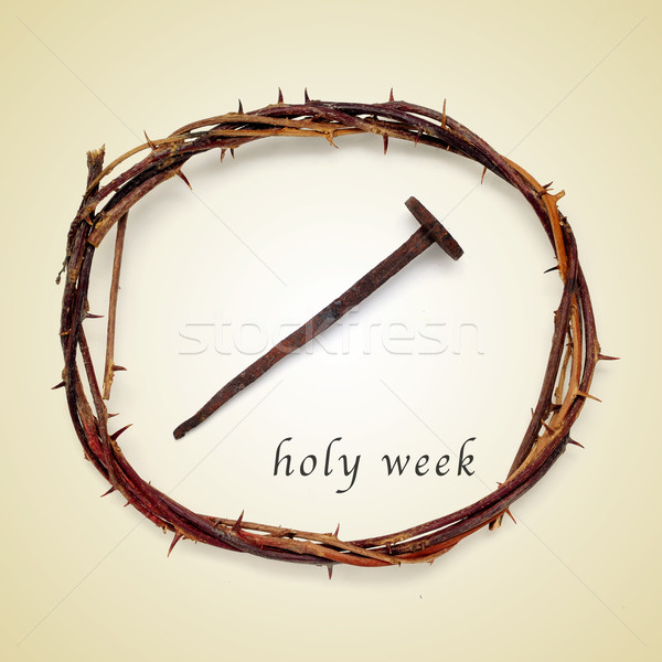 holy week Stock photo © nito
