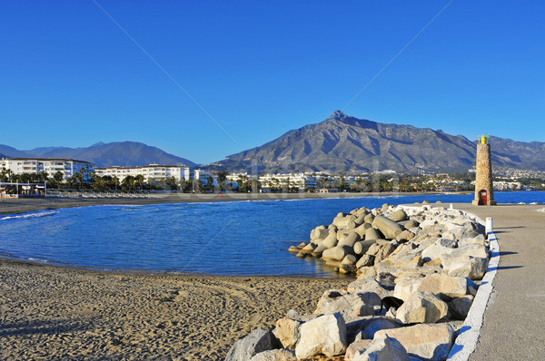 Puerto Banus in Marbella, Spain Stock photo © nito