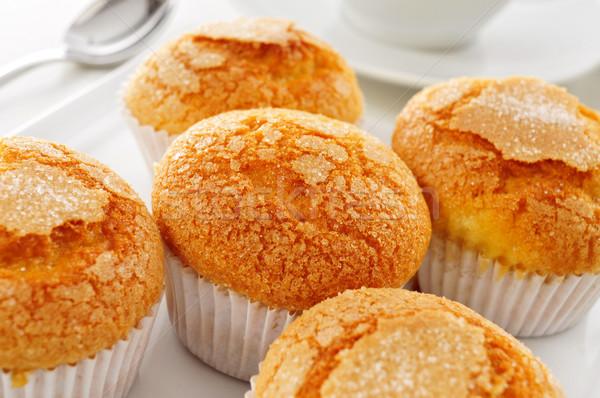 Typisch spaans muffins witte Stockfoto © nito