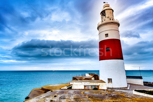 Trinity Lighthouse in Gibraltar Stock photo © nito