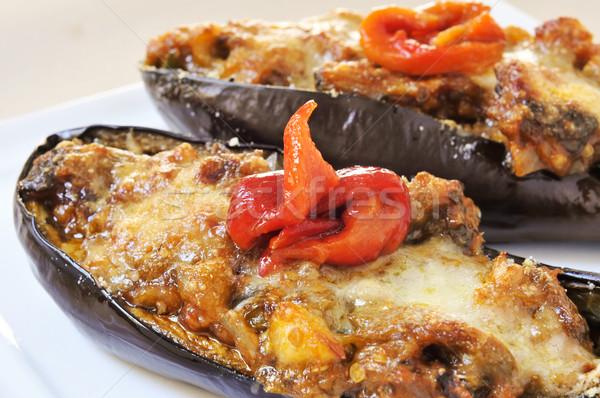 stuffed and gratin eggplants Stock photo © nito