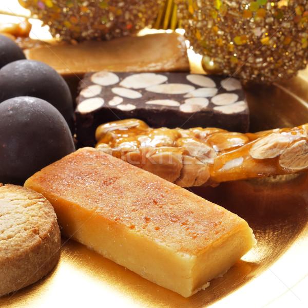 типичный испанский Рождества конфеты Сток-фото © nito