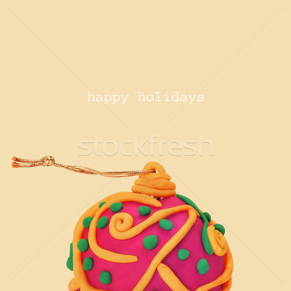 happy holidays Stock photo © nito