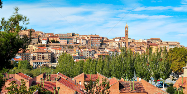 panoramic view of Tarazona, in the province of Zaragoza, Spain Stock photo © nito