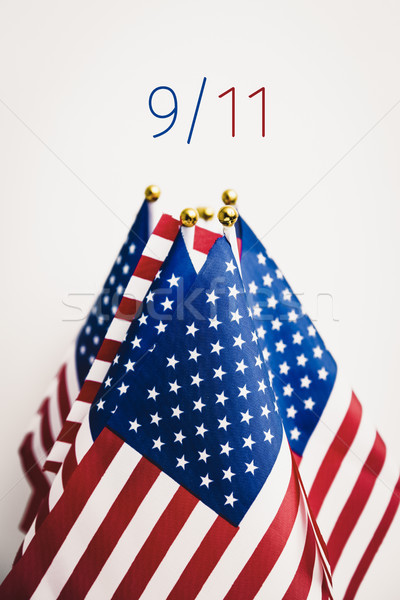 text 9/11 for the September 11 attacks Stock photo © nito
