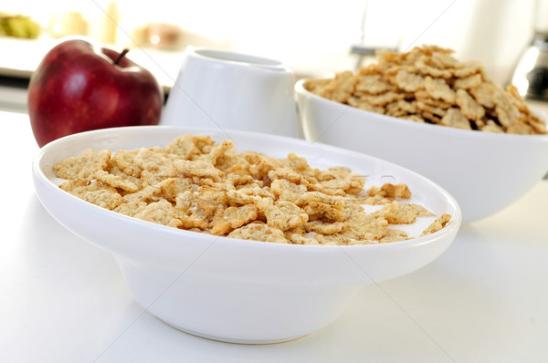 apple and oatmeal cereals Stock photo © nito