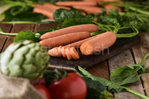 assortment of raw vegetables Stock photo © nito