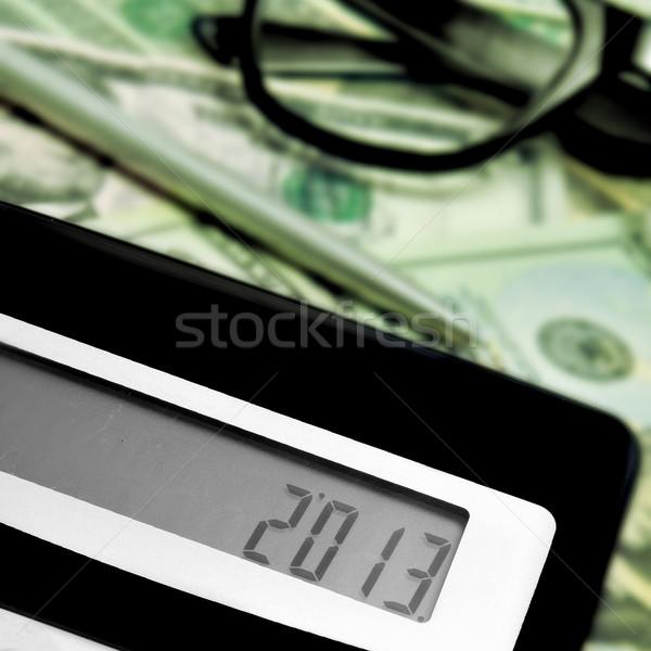 2013 番号 表示 電卓 ストックフォト © nito