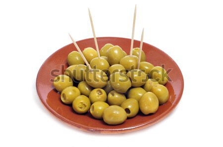spanish pitted olives  Stock photo © nito