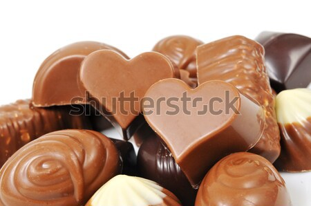 chocolate bonbons Stock photo © nito