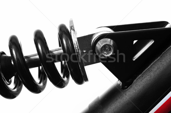 suspension spring of a mountain bike  Stock photo © nito