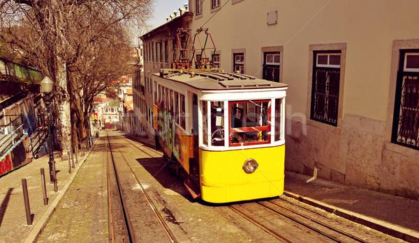 Storico Lisbona Portogallo view città viaggio Foto d'archivio © nito