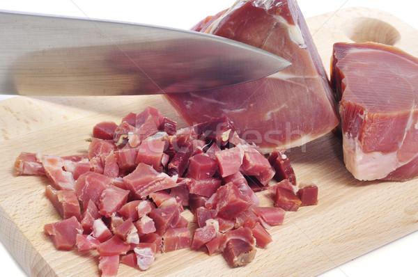Spaans serrano ham voedsel Stockfoto © nito