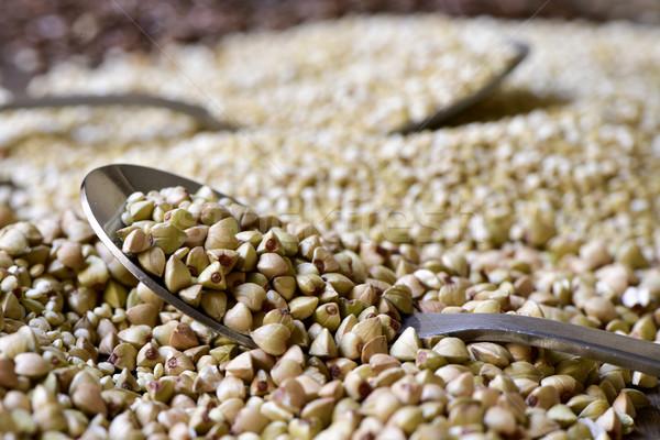 uncooked buckwheat seeds Stock photo © nito