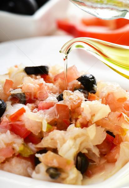 типичный Испания блюдо холодно красный Сток-фото © nito