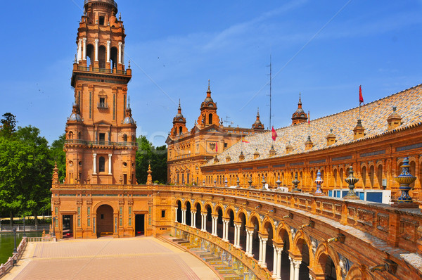 Plaza de Espana, in Seville, Spain Stock photo © nito