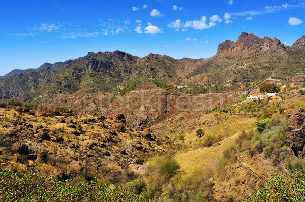 Stock photo: landscape in Gran Canaria, Spain
