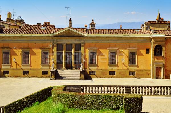 背面図 フィレンツェ イタリア 向い 庭園 旅行 ストックフォト © nito