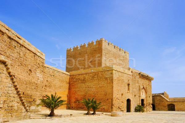 Alcazaba of Almeria, in Almeria, Spain Stock photo © nito