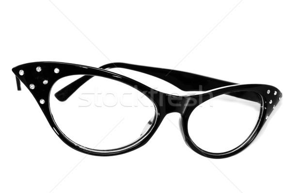 retro-styled glasses for women Stock photo © nito