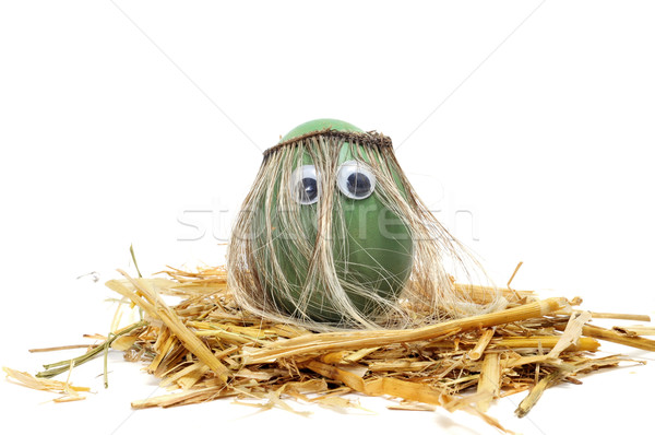 hippie easter egg Stock photo © nito