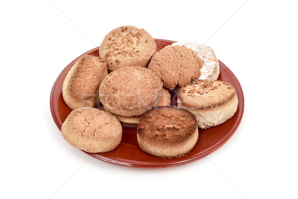 polvorones and mantecados, typical christmas confection in Spain Stock photo © nito