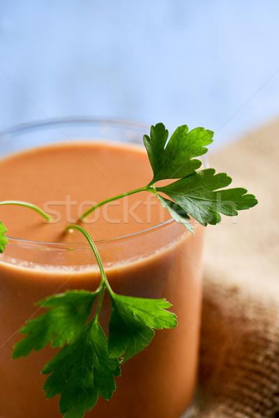 gazpacho, spanish cold tomato soup Stock photo © nito