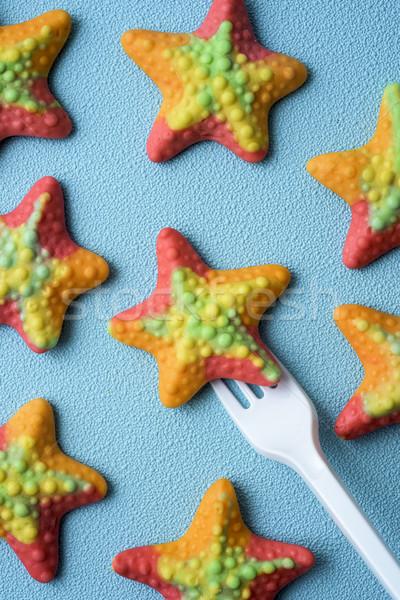starfish-shaped gummy candies Stock photo © nito