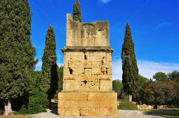 古代 ローマ スペイン 表示 建物 旅行 ストックフォト © nito