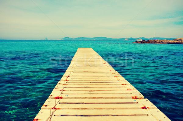 Ses Illetes Beach in Formentera, Balearic Islands Stock photo © nito