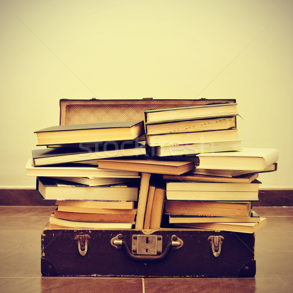 books in a suitcase Stock photo © nito