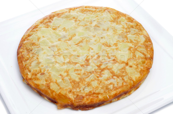 Tortilla típico espanhol bar prato Foto stock © nito
