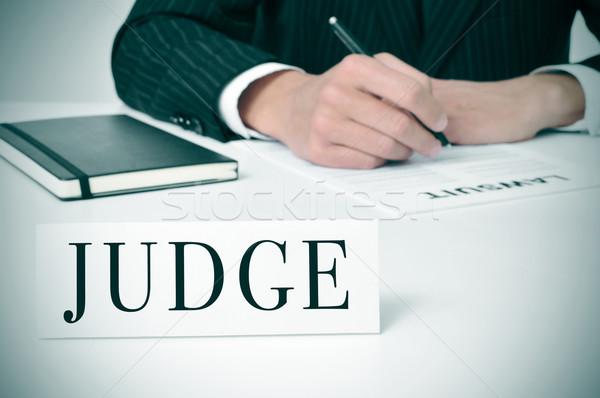 judge Stock photo © nito