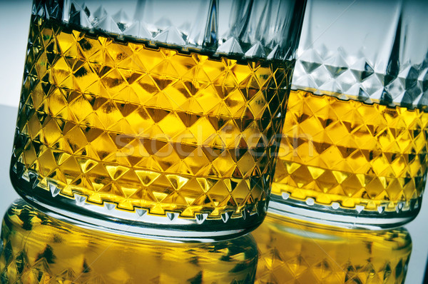 lowball glasses with whisky Stock photo © nito