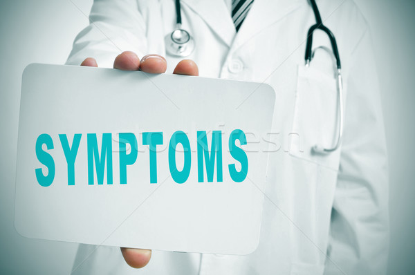 symptoms Stock photo © nito