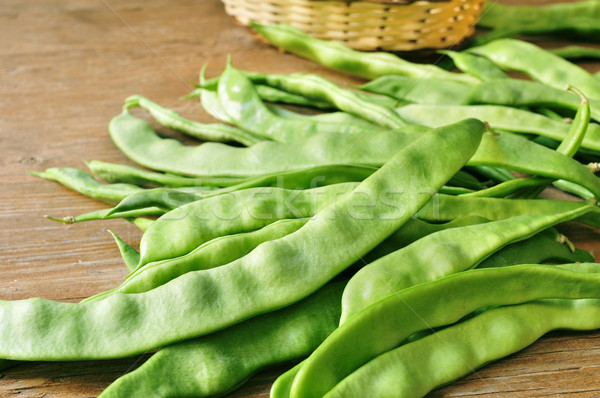 green bean pods Stock photo © nito
