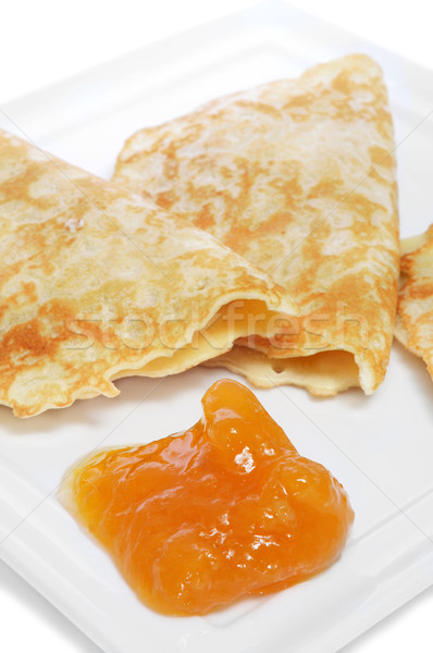 crepes and jam Stock photo © nito