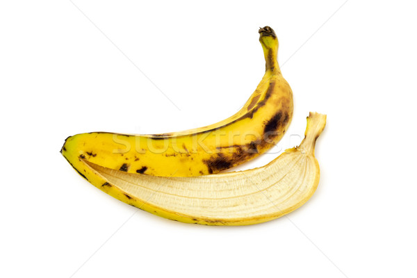 banana skin Stock photo © nito