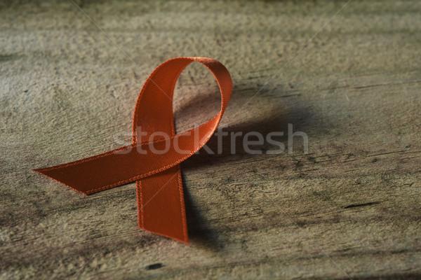оранжевый лента поверхность деревенский Сток-фото © nito